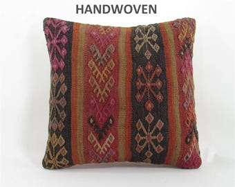 kilim pillow cover decorative pillow anatolian pillow throw cushion south kilim pillow kilim cushion sofa cushion cover sofa pillow 000708