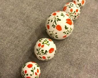 Tango Tangerine Beads Set