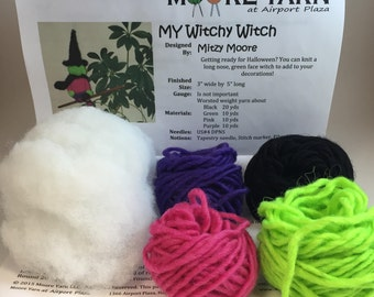 Witchy Witch Knitting Kit