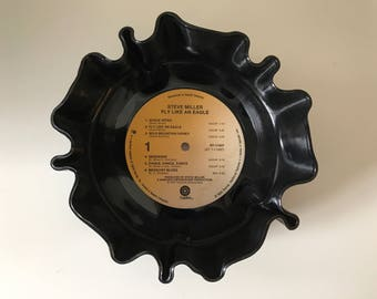 "Steve Miller ""Fly Like An Eagle"" vinyl record bowl"
