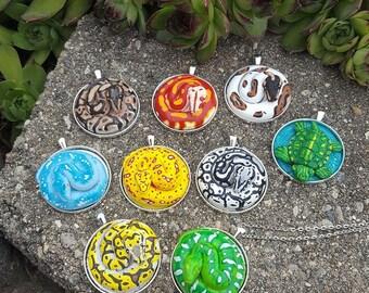Custom snake necklace