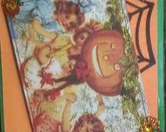 Halloween Vintage Style Card