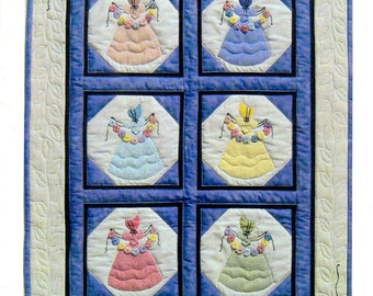 "Quilt Pattern:  ""Belle Fleur"" By Oceanlake Designs"""
