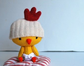 Bitty Birdie--Little Baby Chicken Set with Play Accessories