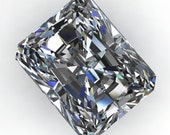 Private Listing for Brianna  - NEO moissanite - radiant cut moissanite, near colorless moissanite, loose stone