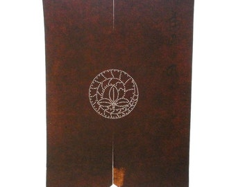 Vintage Japanese Stencil - Vintage Stencil -  Family Crest Stencil - Leaf ST157