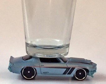 The ORIGINAL Hot Shot, Classic Hot Rods, Shot Glass, '70 Camaro RS, Hot Wheel