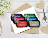 JLMould ColorBox Archival Dye Ink Full Size Inkpad for Rubber Stamps Ink