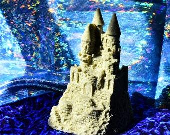 Magical Sand Castle Figurine Nicely Detailed Possibly Mr. Sandman