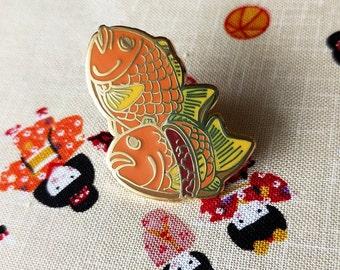 Taiyaki enamel pin