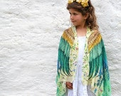Kids Kimono, Boho Kids Scarf, School Kids Costume, Unisex Kids Gift, Kids Accessories, Girls Scarf, Children Scarf, Baby Wings, Unusual Gift