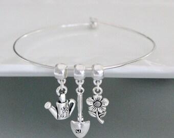 Garden Lovers Charm Bracelet