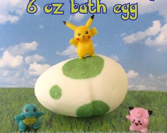 One 6 0z Pokemon go hatching surprise bath egg