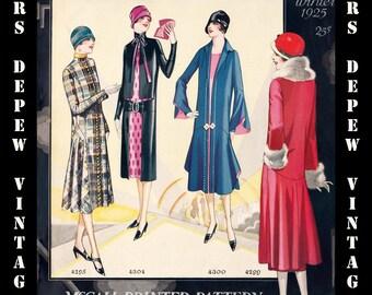 Vintage Sewing Pattern Catalog Booklet McCall Quarterly Winter 1925 PDF Digital Copy -INSTANT DOWNLOAD-