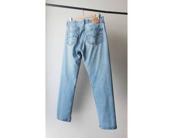 1990s Levi's 501 Distressed Boyfriend Jeans