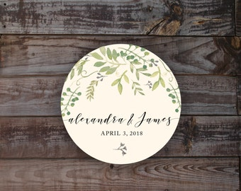 Stickers, labels, wedding stickers, envelope sticker, wedding label, gift bag label, gift bag stickers, favor stickers, watercolor sticker
