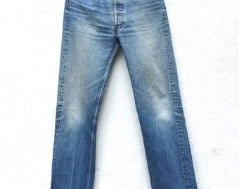 LEVIS 501 Waist 30 High Waist Levi Boyfriend Jeans Levi's Button Fly