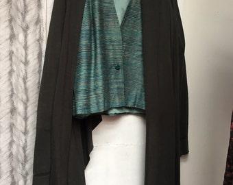 beautiful vintage pure silk jacket