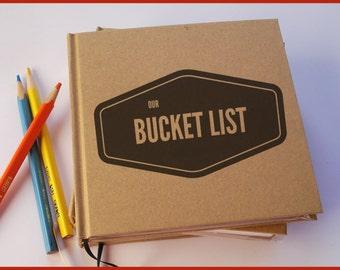 Our Bucket List · First Anniversary Gift Journal · Our Wedding Anniversary Book · Marriage Bucket List Keepsake · Paper Anniversary Gift