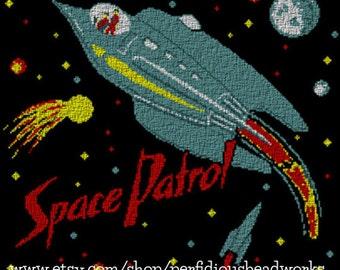 PATTERN: Space Patrol Cross Stitch Chart