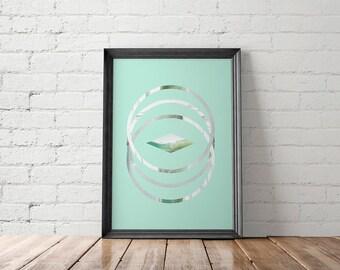 Abstract Printable, Abstract Art Prints, Abstract Home Decor, Abstract Wall Art, Modern Printable, Minimalist Printable