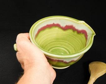 Small Whisking Bowl - Ceramic Gravy Boat - Ceramic Mix Bowl - Batter Bowl - Gravy Boat Pottery - Ceramic Mixing Bowl - Bowl Batter - InStock
