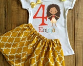 Personalized Moana Skirt Set - Moana Birthday Dress - Moana Tutu - Moana Outfit - Moana Dress - Moana Shirt