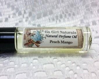 Peach Mango Natural Perfume Oil Roll On, Perfume, Perfume Oil