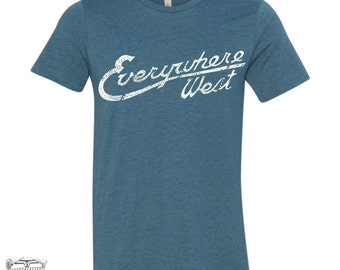 Mens WEST COAST T Shirt  s m l xl xxl (+ Color Options)
