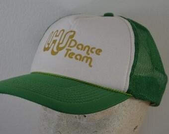 on sale Vintage LHS Dance Team Foam Mesh snapback hat trucker cap Lutheran High School