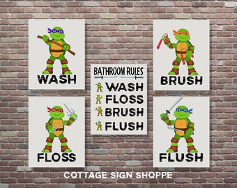 Ninja turtles decor Etsy