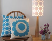 Bloom Pillow in Turquoise