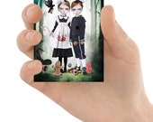 Fairy Tale ACEO Card - Fairytale Art Card - ACEO Art Print - ACEO Card - Hansel And Gretel