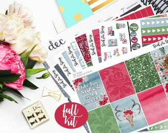 Big Bucks Full Weekly Planner Vertical Student Sticker Kit Glossy - Stick to Your Story