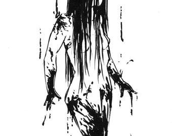 Inktober 2016 No 21 - 5.5 x 7.5 Ink Drawing
