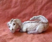 Small FALCOR SCULPTURE, 5 Inches Long Luck DRAGON from The Neverending Story One of a Kind ooak Fantasy Film Nostalgia Creature Dog Dragons