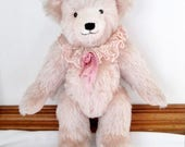 RESERVED FOR VIRGINIA - 1987 Hug-A-Bear Lida Rose by Janet Reeves Signed Tag Artist Bear Vintage Teddy Bear