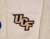 CUSTOM ORDER - UCF Embroidered Plush Towels (size 16x26)
