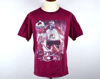 Patrick Roy T-Shirt, Colorado Avalanche