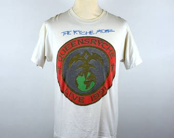 Queensrÿche - Building Empires 1991 Tour T-Shirt