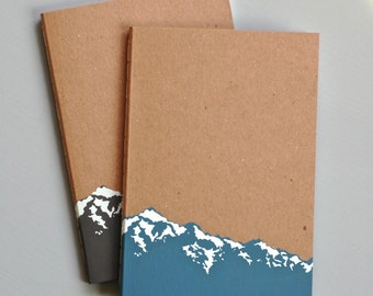 Large Mountain Notebook Journal