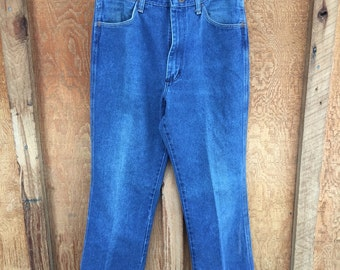 Vintage Wrangler Cowboy Cut Jeans - Made in USA - 30x32