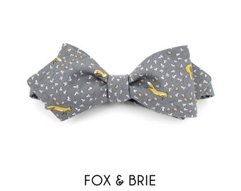 Fox & Flora Pointed Bow Tie
