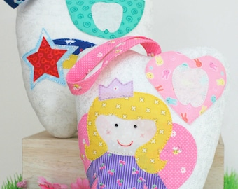 Tooth Fairy Tooth Cushions - PDF - Immediate Download