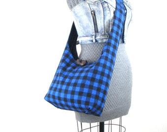 Crossbody Hobo Bag - Crossbody Bag - Hippie Bag for Women - Boho Bag - Vegan Bag - Vegan Purse - Crossbody Purse - Hobo Shoulder Bag