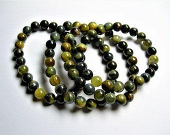Golden Pietersite - 1 set - 8mm  - 23 beads - A quality - HSG32