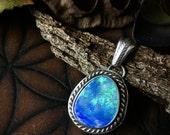 Sea Spirits- Stunning Australian Opal Necklace