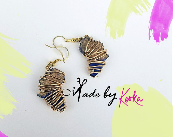Wrapped Up Mini Africa Earrings