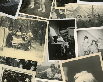 """50 pc - Vintage Photos """"Variety Collection"""" Snapshot Lot Old Photo Black White Photography Paper Ephemera Collectibles - 020917"""