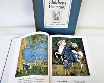 Vintage Childrens Book | Fairy Tales | Childrens Literature Book | Illustrated Story Book | Childrens Illustrations
